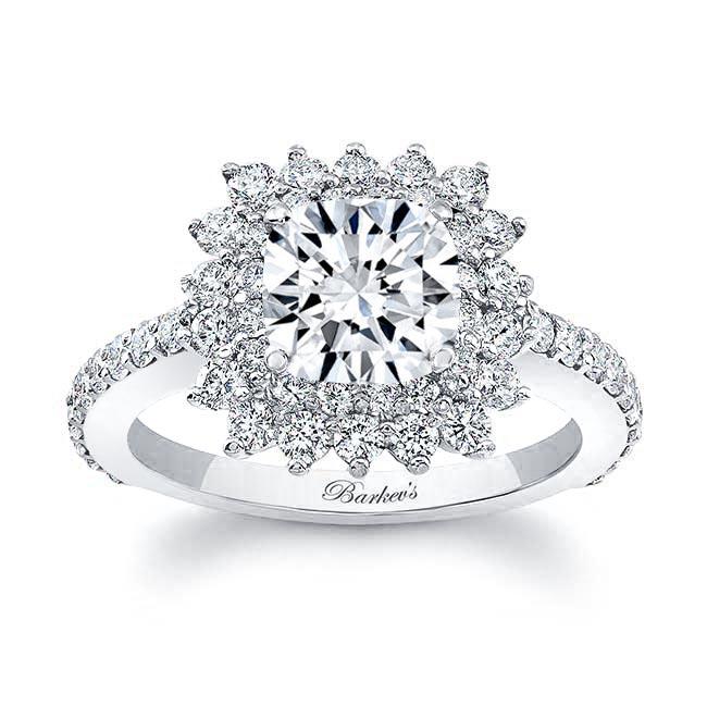 Cushion Cut Engagement Ring 8001L