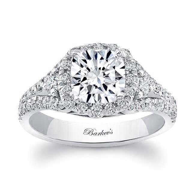 Cushion Cut Engagement Ring 8002L