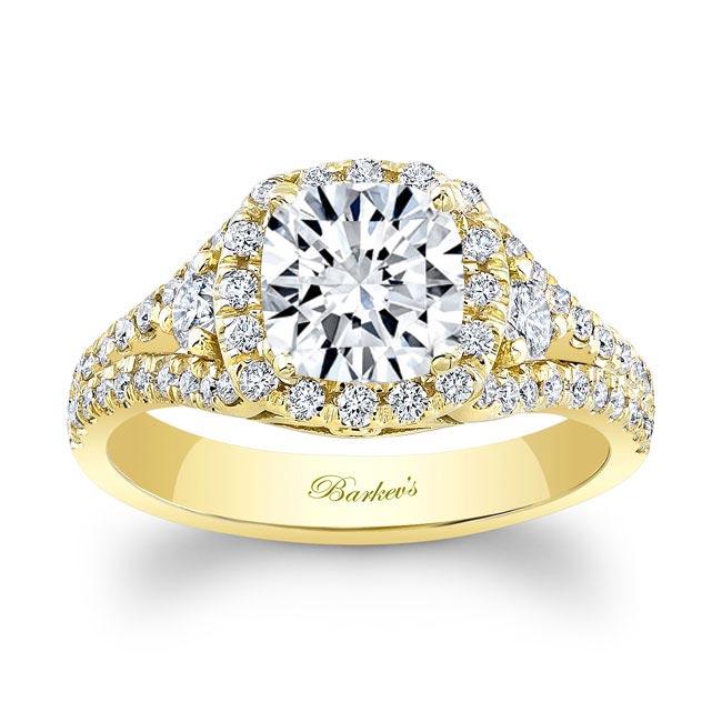 Cushion Cut Engagement Ring 8002L Image 1