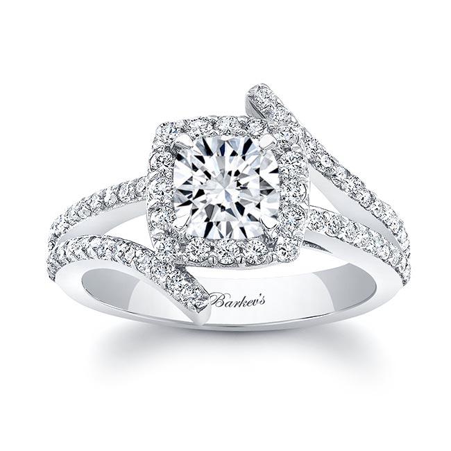 Cushion Cut Engagement Ring 8005L