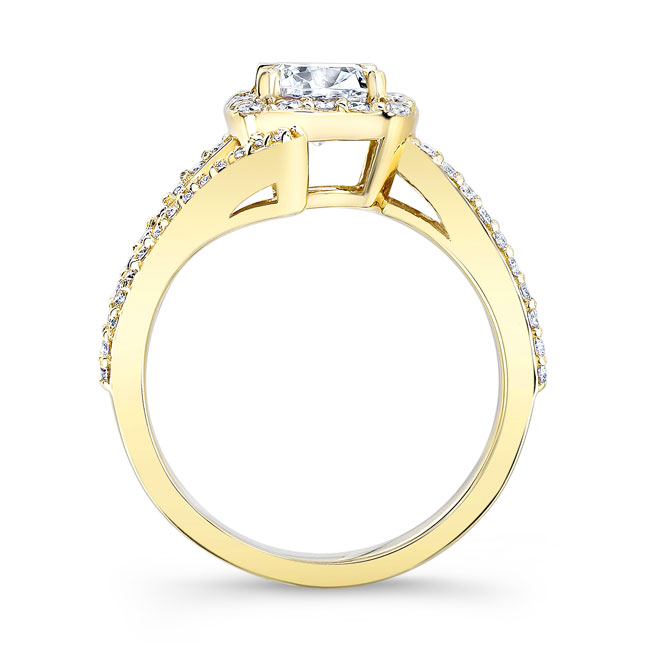 Cushion Cut Engagement Ring 8005L Image 2