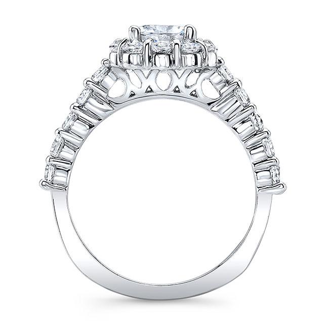 Halo Engagement Ring 8008L Image 2