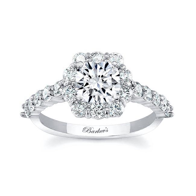 Halo Engagement Ring 8008L Image 1