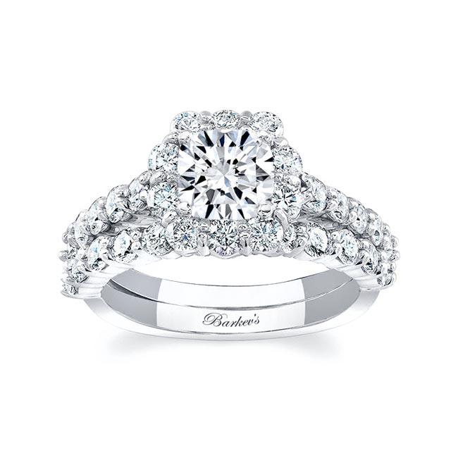 Halo Bridal Set 8008S Image 1