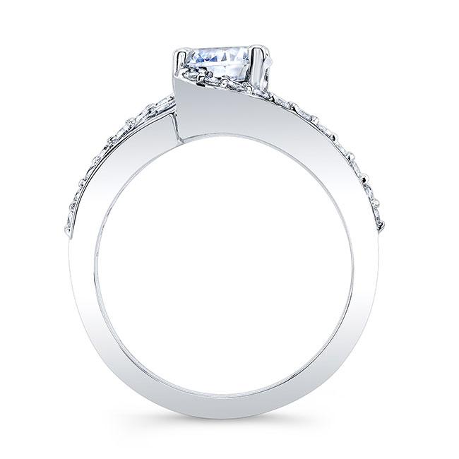Black And White Diamond Ring Image 2