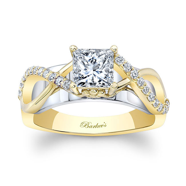 Cathedral Engagement Ring Image 1