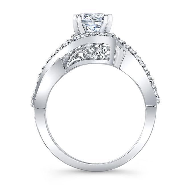 Infinity Twist Engagement Ring Image 2