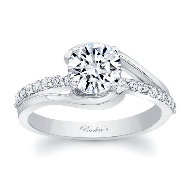 Simple Unique Engagement Ring