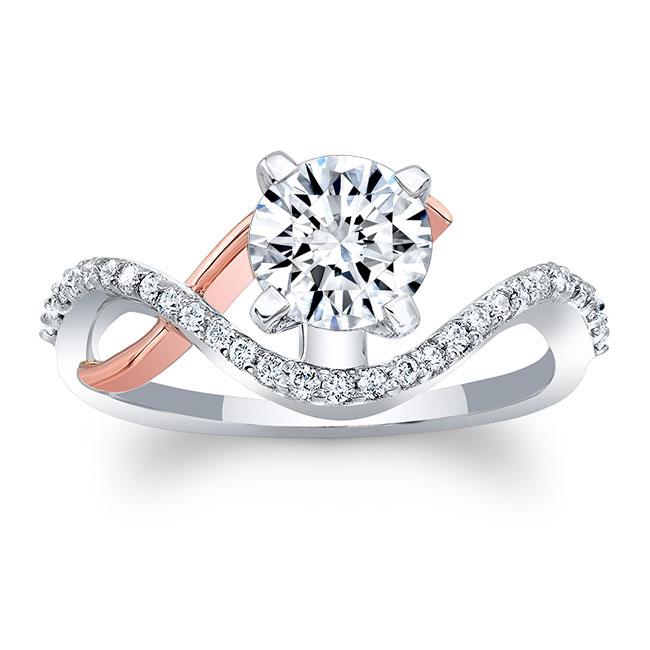 Moissanite Engagement Ring MOI-8036L