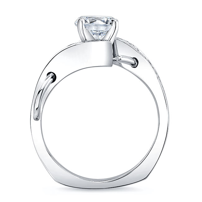 Moissanite Channel Ring Image 2