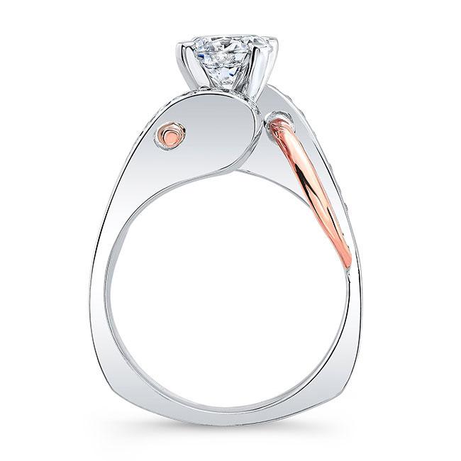 Unique Style Engagement Ring Image 2