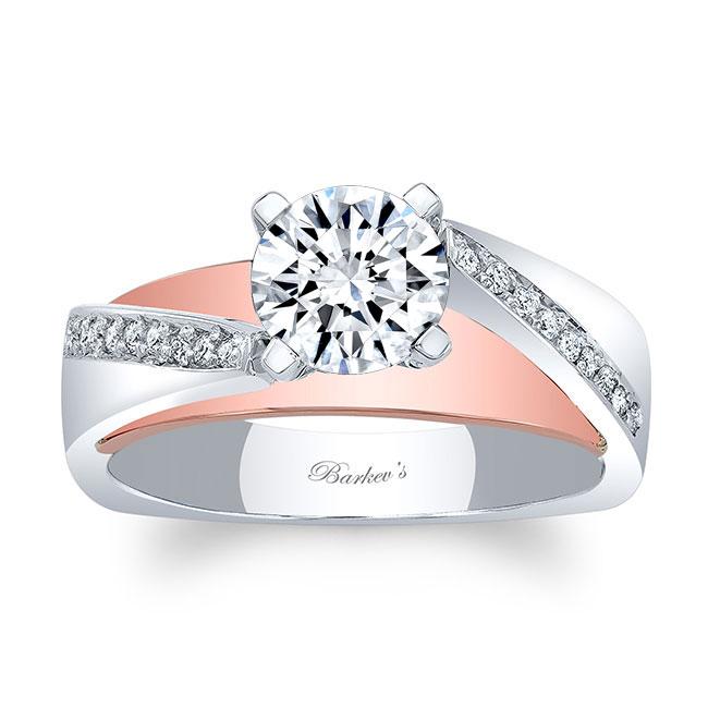Split Shank Pave Engagement Ring