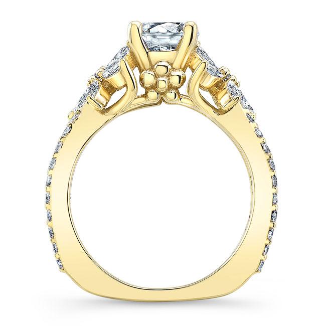 Moissanite Engagement Ring MOI-8056L Image 2