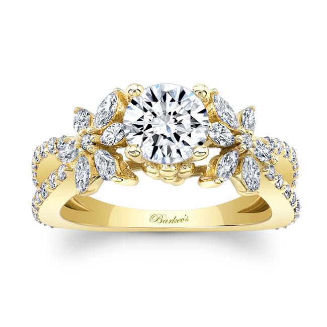 Moissanite Engagement Ring MOI-8056L Image 1