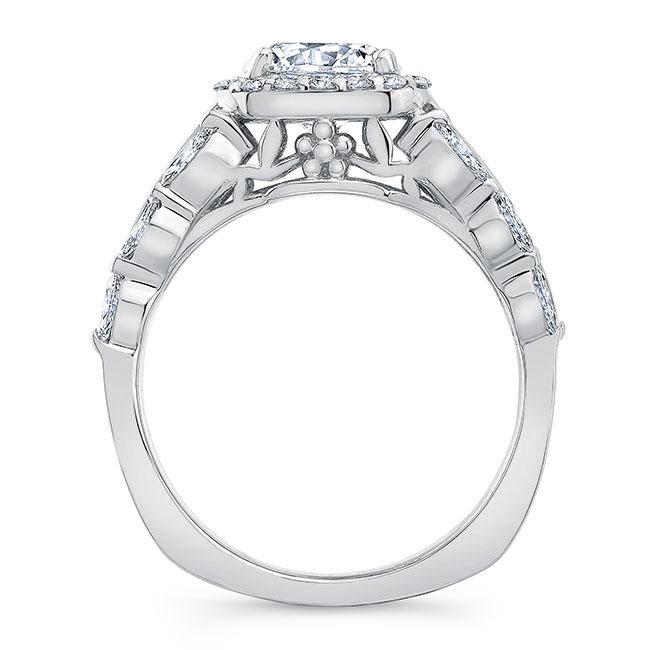 Moissanite Baguette Ring Image 2