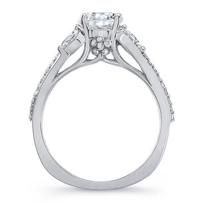 Split Shank Moissanite Ring Image 2