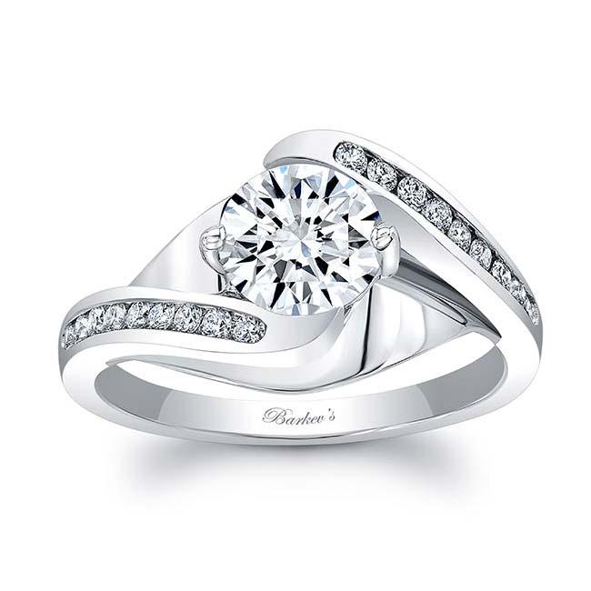 Moissanite Engagement Ring MOI-8069L