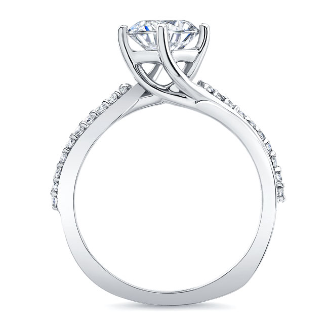 Twisted Engagement Ring Image 2
