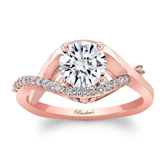 Moissanite Engagement Ring MOI-8079L