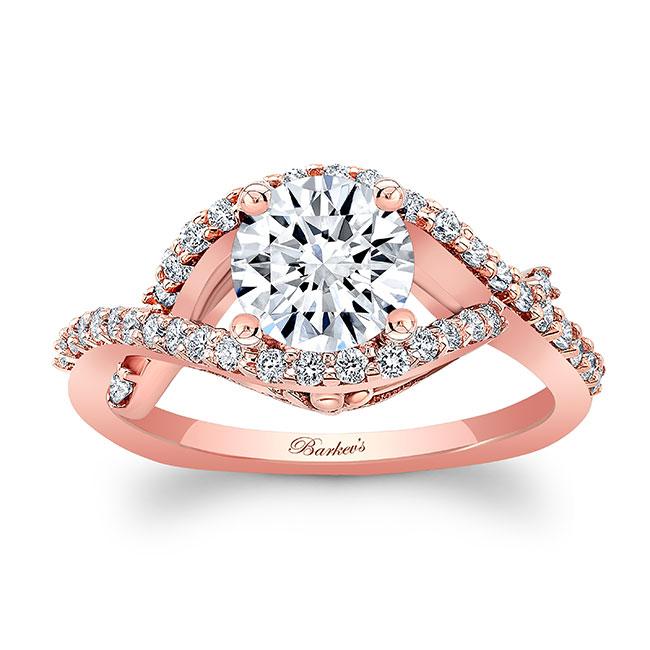 Moissanite Engagement Ring MOI-8080L