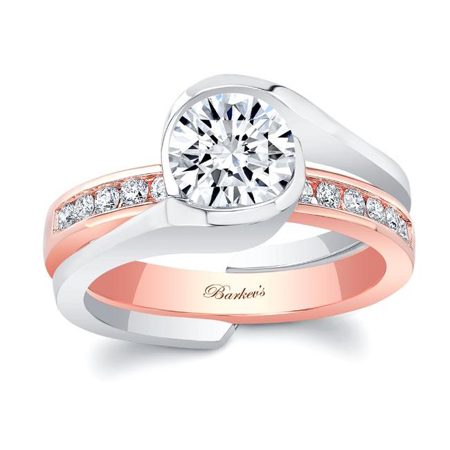 Moissanite Bridal Set MOI-8092S