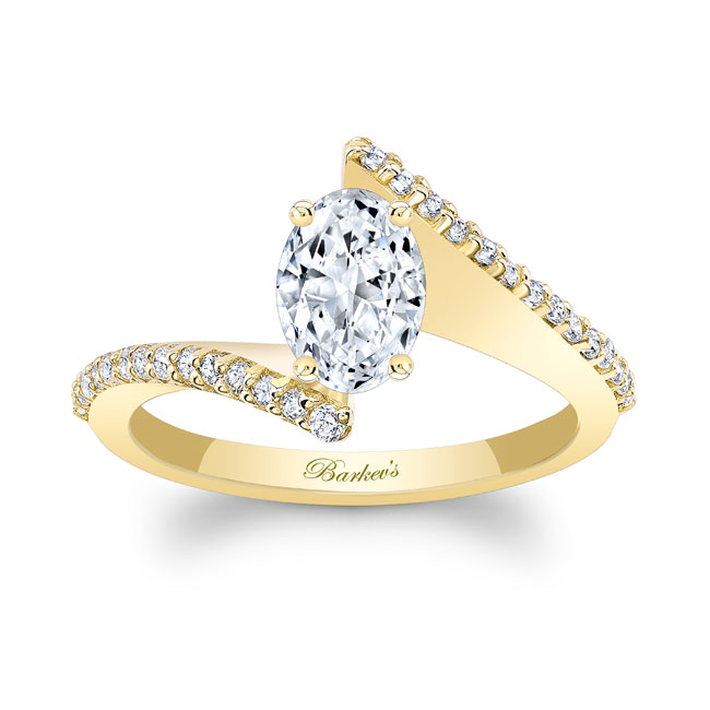 Oval Diamond Ring Image 1
