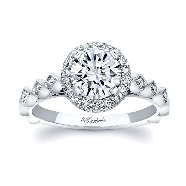 Moissanite Engagement Ring MOI-8142L