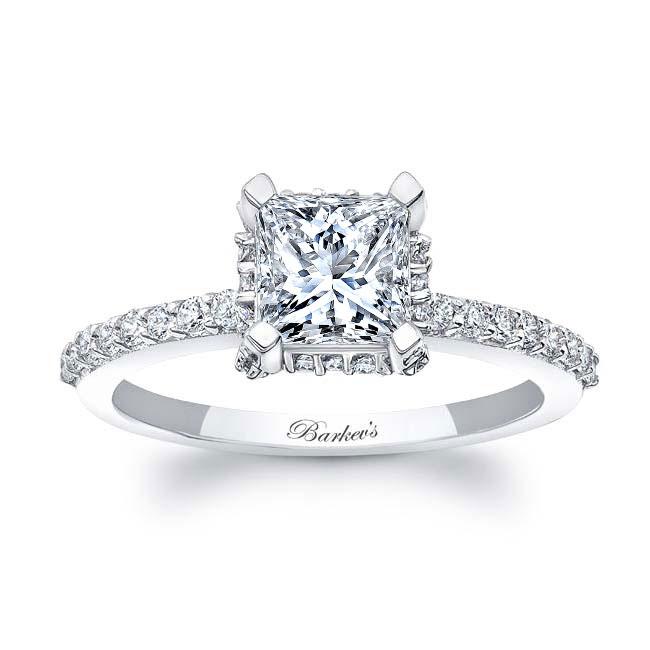 Princess Cut Diamond Engagement Ring 8158L