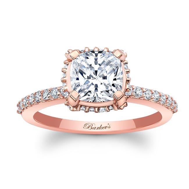 Moissanite Engagement Ring MOI-8159L