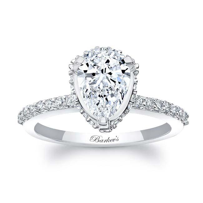 Teardrop Diamond Ring 8160L