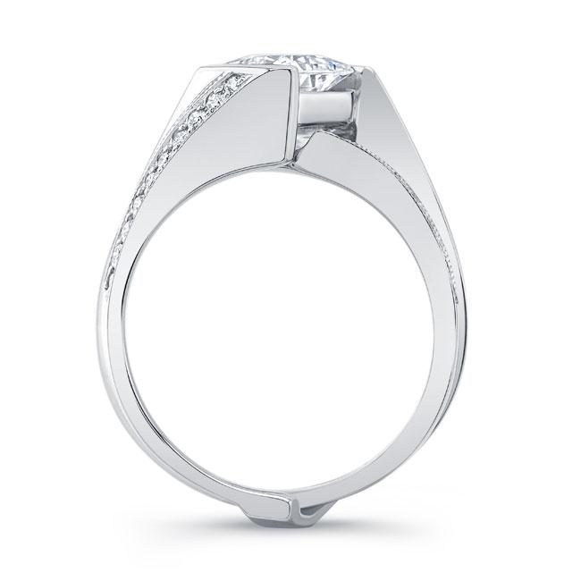 Princess Cut Diamond Bridal Set 8181S Image 2