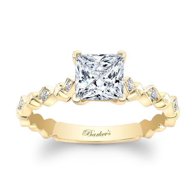 Art Deco Princess Ring Image 1