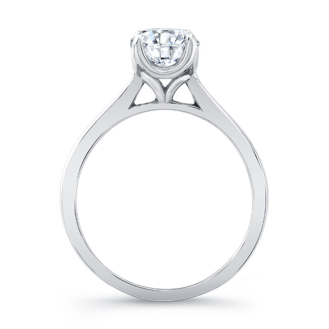 Solitaire Engagement Ring 8191L Image 2