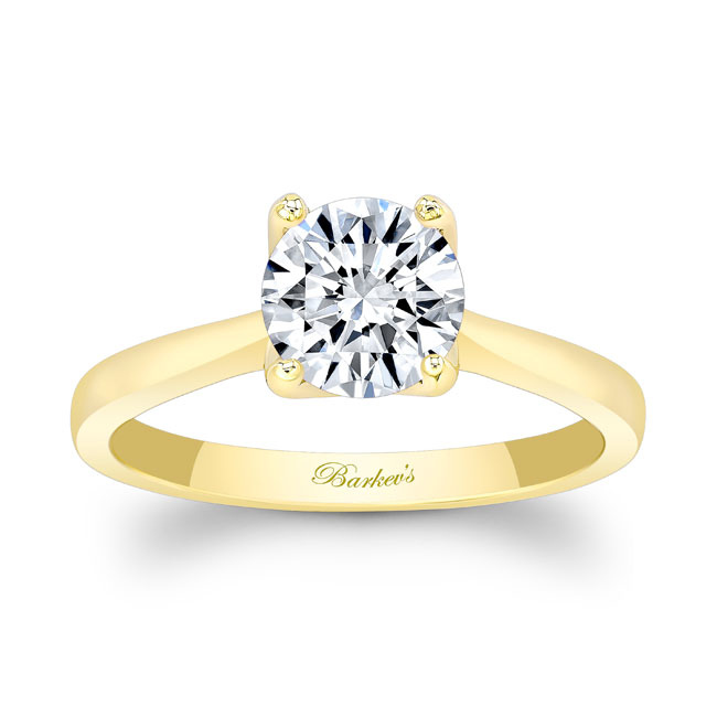 Moissanite Solitaire Engagement Ring MOI-8191L Image 1