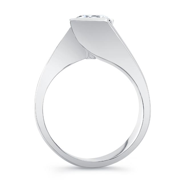 Solitaire Engagement Ring 8193L Image 2
