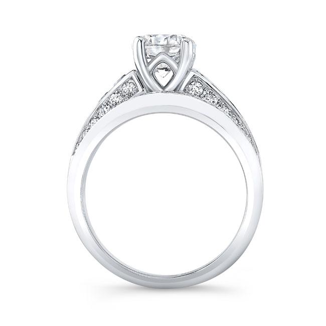 Channel Black Diamond Wedding Ring Set Image 2