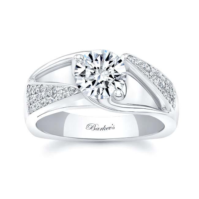 3 Row Diamond Ring