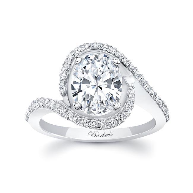 2 Carat Oval Diamond Ring
