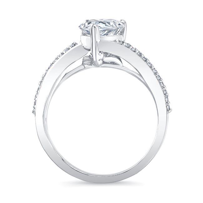 Split Shank Pear Ring Image 2