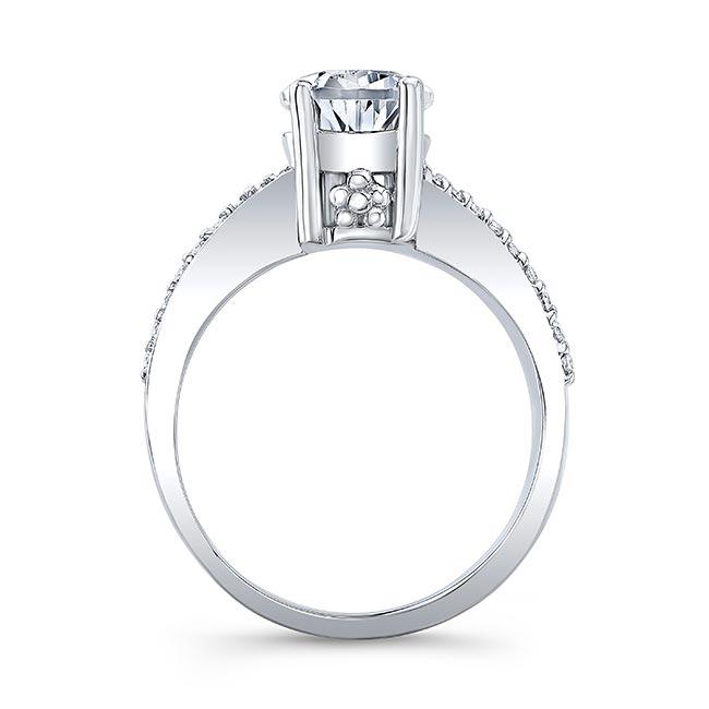 Pear Shape Blue Sapphire Ring 8219LBS Image 2
