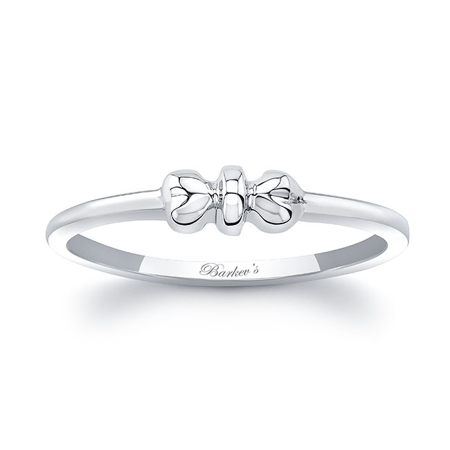 Simple Heart Promise Ring Image 1