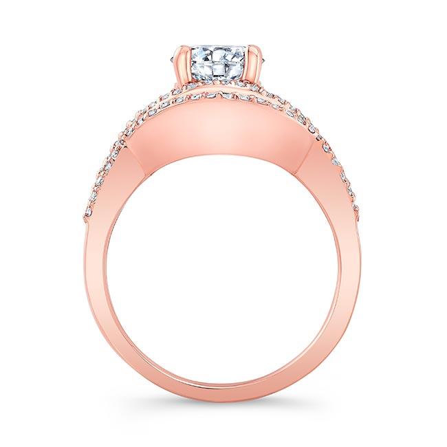 Criss Cross Moissanite Ring Set Image 2