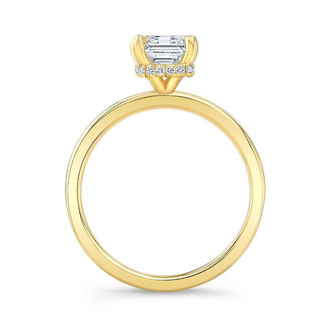 Lia Emerald Cut Engagement Ring Image 2