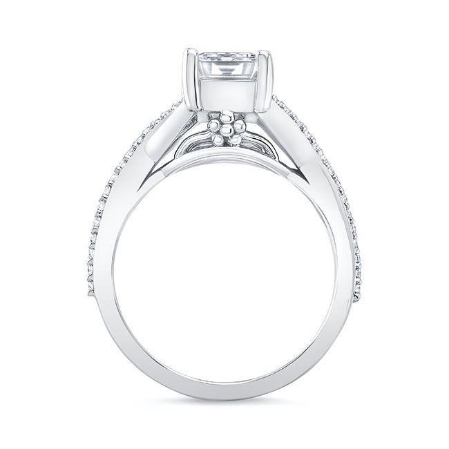 2 Carat Emerald Cut Diamond Ring Image 2