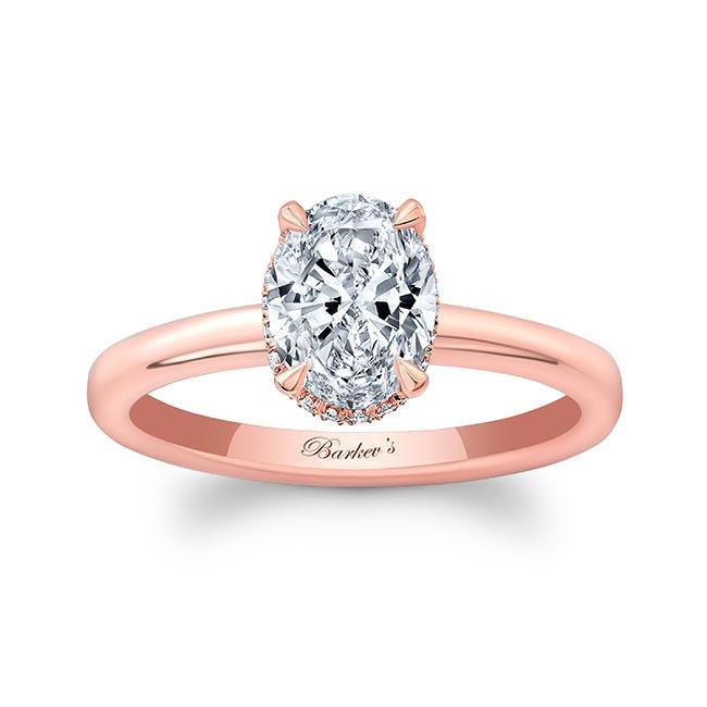 Lia Oval Moissanite Engagement Ring Image 1
