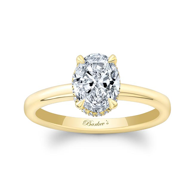 Lia Oval Engagement Ring Image 1