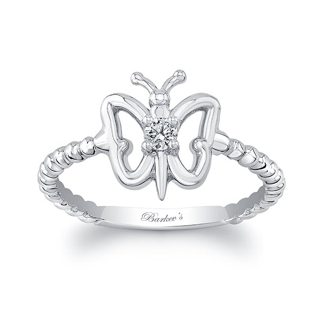 Butterfly Promise Ring