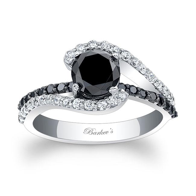 1 Carat Black Diamond Ring Image 1