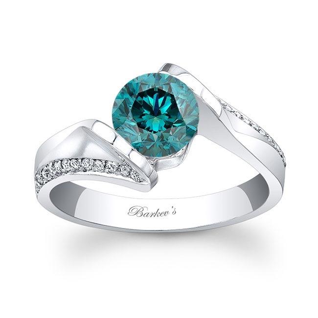 Blue Diamond Engagement Ring BD-7868L Image 1