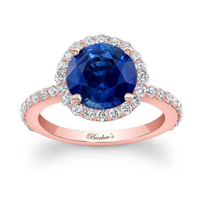 2.00ct. Blue Sapphire Engagement Ring BSC-7839L